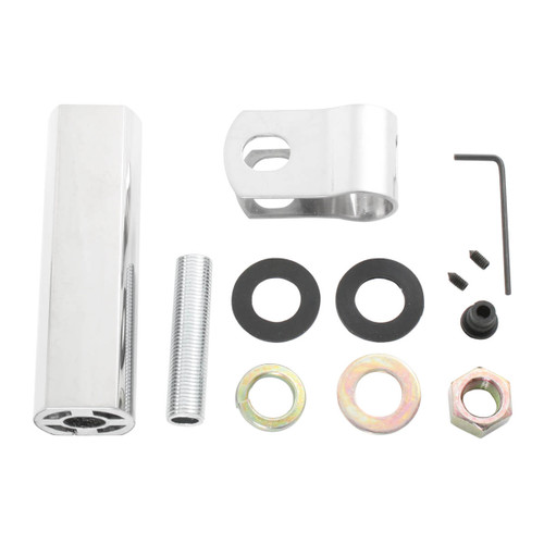 Pedestal Light extension kit with mirror clip