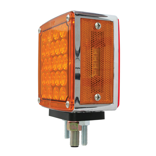 24 LED per side Square Double Face Pearl Pedestal Light