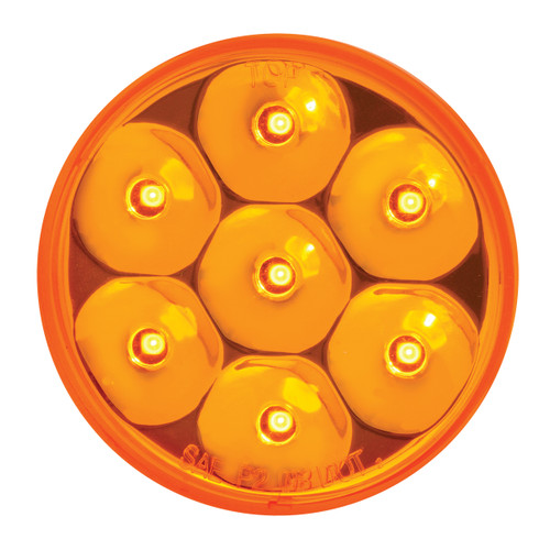"""2"""" or 2.5"""" round Pearl LED Marker Light"""