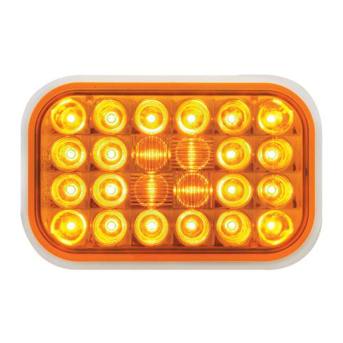 24 LED Rectangular Pearl Marker Light