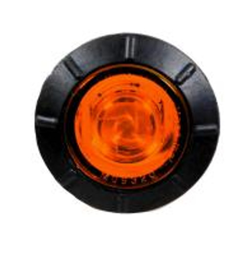 "3 LED 3/4"" Marker Light w/0.180 bullet plug - No Chrome Bezel"