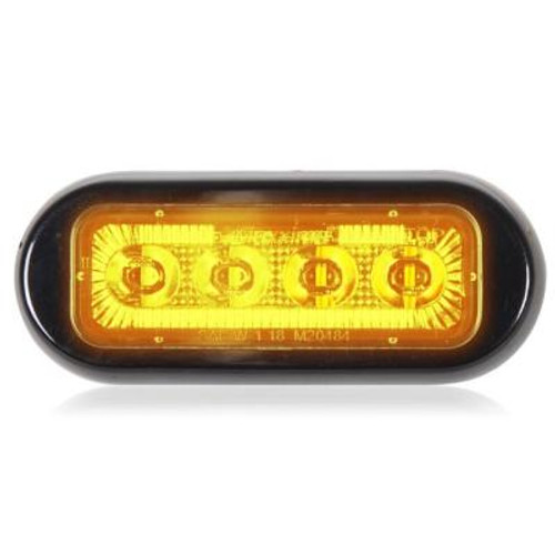 4 LED Rectangular Surface Mount Warning Light