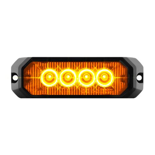"""4 High Power LED 4"""" Rectangular Strobe Light"""