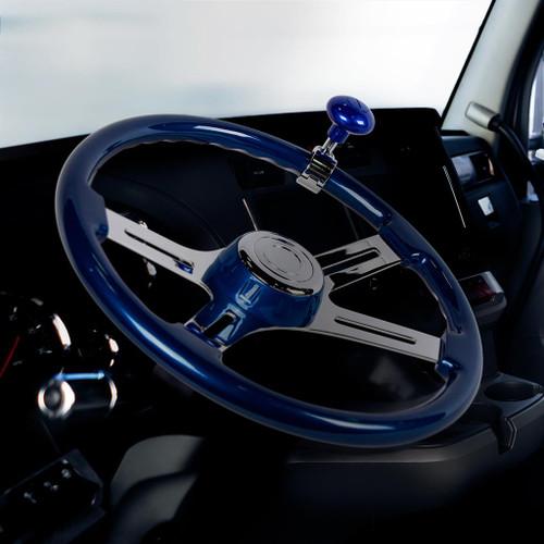 Assorted Color Heavy Duty Steering Wheel Spinner Knob