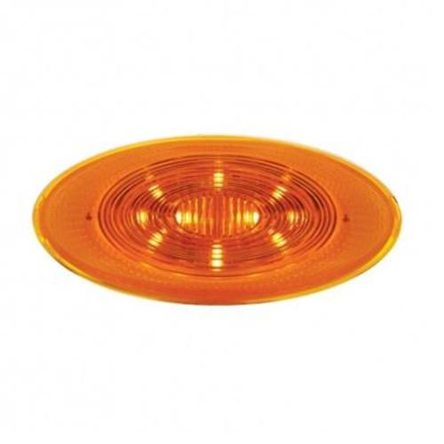 10 LED Peterbilt 386 Front Fender Amber Turn Signal Light