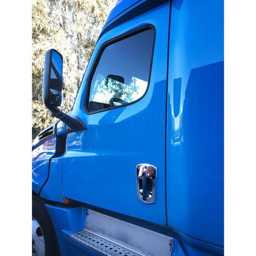 2018+ Freightliner Cascadia Chrome Door Handle Cover