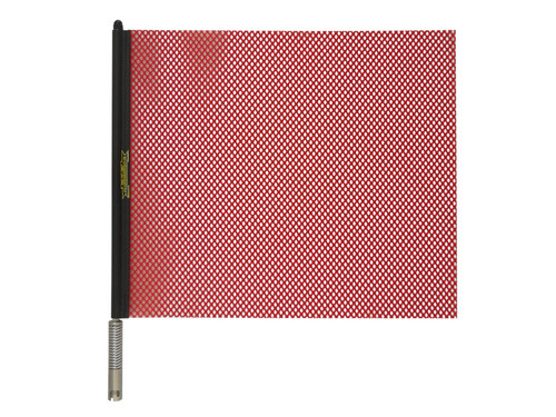 """18"""" Red or Orange Quickmount Warning Flag Assembly"""