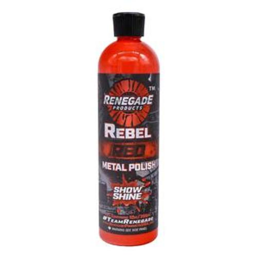 "12oz or 1 Gallon Rebel Red ""Show Shine"" Liquid Metal Polish"