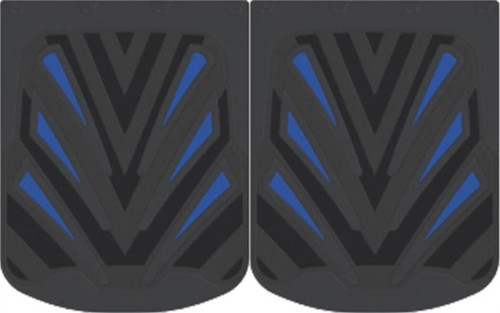 """24"""" X 30"""" """"Helix"""" Rubber  Mud Flaps Pair"""