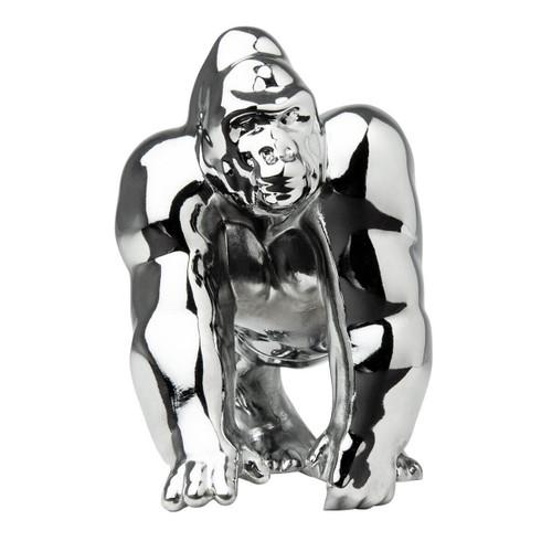 Chrome or Black Gorilla King Hood Ornament