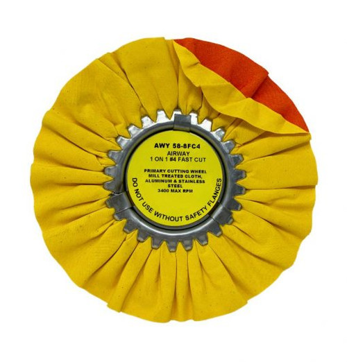 """8"""" or 10"""" Airway Buffing Wheels Signature Series"""