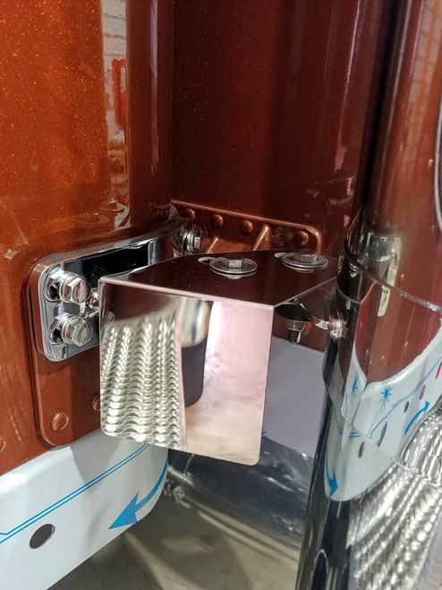 379/389 Exhaust IFTA Permit Bracket - Pair