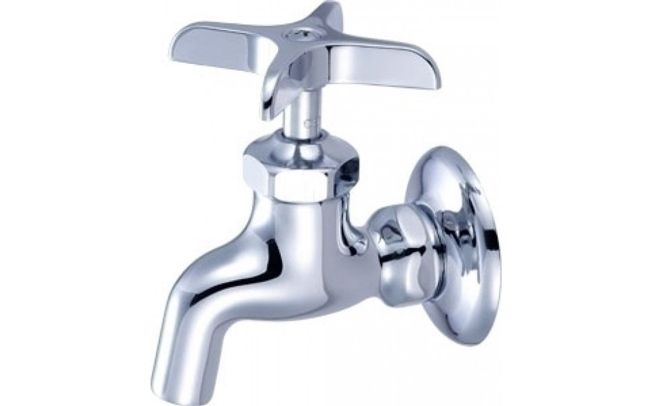Picture of: Central Brass 0047 Ua3 2 Handle Wall Mount Kitchen Faucet Chrome Touch On Kitchen Sink Faucets