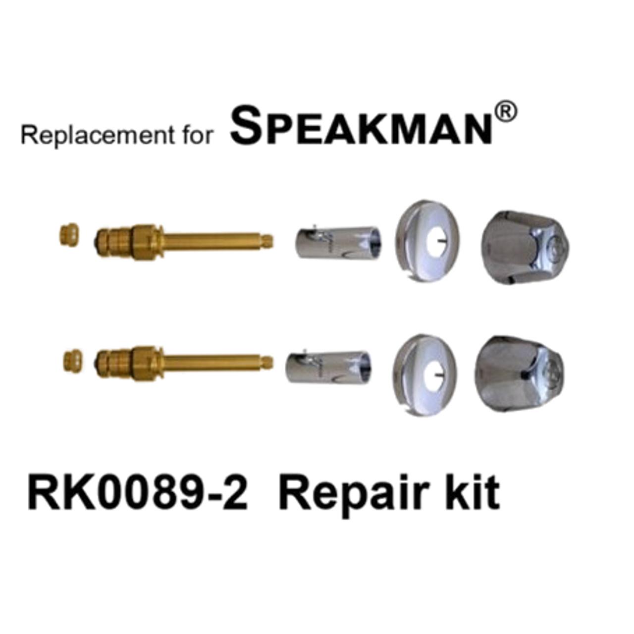 Speakman 2 Valve Rebuild Kit