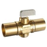 In-line stop valves