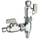 Dual shut-off valves