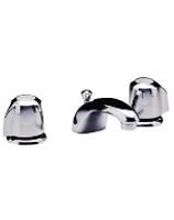 Gerber 43-071-61 Gerber Classics 2H Lavatory Faucet w/ Metal Handles & Metal Pop-Up Drain w/ Flex Co