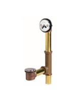 Gerber 41-805 Gerber Classics Pop-up Fit-all 20 Gauge Drain for Standard Tub Chrome
