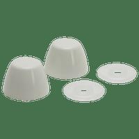 Fluidmaster 7115 White Bolt Caps