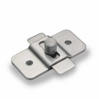 Partition Hardware Jacknob 6309 Slide Latch