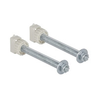 Geberit 242.045.00.1 Fixing With Plastic Nuts Complete