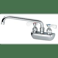 """Krowne 14-406L - Royal Series 4"""" Center Wall Mount Faucet, 6"""" Spout, Low Lead"""