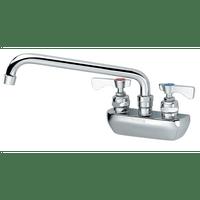 """Krowne 14-408L - Royal Series 4"""" Center Wall Mount Faucet, 8"""" Spout, Low Lead"""