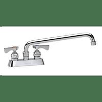 """Krowne 15-316L - Royal Series 4"""" Center Deck Mount Faucet, 16"""" Spout, Low Lead"""