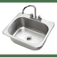 "Krowne HS-2017 - 20"" x 17"" Drop-In Hand Sink"