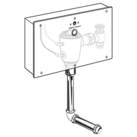 American Standard Selectronic Concealed Urinal Fv W/ Wb 1.0 Gpf 6063511.002 Test