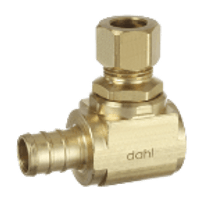Dahl 620-Px3-31 1/2 Crimpex X 3/8 Od Comp. Lead Free.