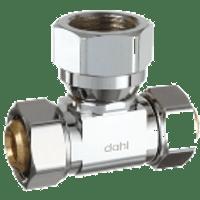 Dahl E33-33-53-Pl 5/8 Od Comp X 5/8 Od Comp X 1/2 Fip. Lead Free.
