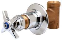 T&S Brass B-1025 Concealed Straight Valve
