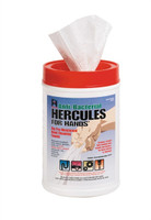 Hercules 45-333 Hercules For Hands - Pre-Moistened Towels