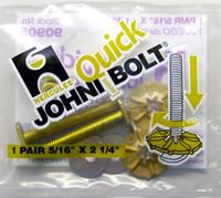 """Hercules 90-905 Johni Quick Bolts Toilet Bolt - 5/16"""" X 2 1/4"""""""
