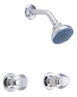Gerber 58-460 Gerber Hardwater Two Handle Shower Only Fitting 2.0gpm Chrome
