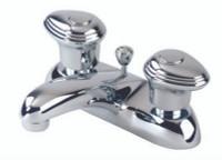 Gerber 53-120 Gerber Hardwater 2H Centerset Lavatory Faucet w/ Metal Pop-Up Drain 1.5gpm Chrome