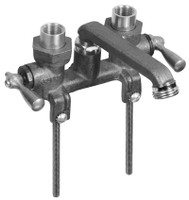 Gerber 49-540 Gerber Classics 2H Laundry Faucet w/ Threaded Legs & IPS/Sweat Connections -Threaded S