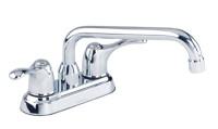 """Gerber 49-274 Allerton 2H Laundry Faucet 4"""" Centers 8"""" Spout 2.2gpm Chrome"""