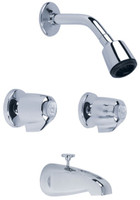 Gerber 46-520-83 Gerber Classics 6 Inch Centers Two Handle Tub & Shower Fitting 2.0gpm Chrome