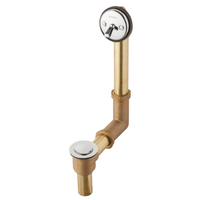 Gerber 41-806-91 Gerber Classics Pop-up 20 Gauge All Drain in Shoe for Standard Tub with Brass Nuts