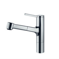 Kwc 10.191.033.000 Ava Single Lever Pull-Out Kitchen Faucet, Chrome
