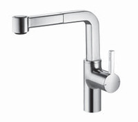 Kwc 10.191.003.127 Ava Single Lever Pull-Out Kitchen Faucet, Splendure Stainless Steel