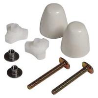 American Standard 7381251-200.0200a Ez-Install Bolt Cap Kit White