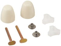 American Standard 7381251-200.0210a Ez-Install Bolt Cap Kit Bone