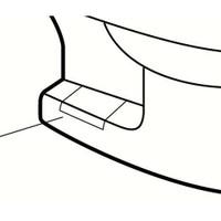 American Standard 034782-0200a Bolt Cap Cover Plate Kit-Rom/Ell/New Lex