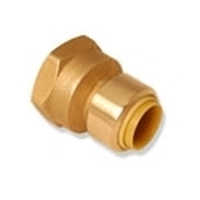 "Probite Lf852f Straight Female Push Connect Adapter 1-1/4"" X 1-1/4"" Fnpt Dual Seal Technology"