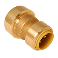 """Probite Lf8461 Push Connect Reducing Coupling 1-1/2"""" X 1-1/4"""" Dual Seal Technology"""