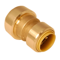 """Probite Lf8451 Push Connect Reducing Coupling 1-1/4"""" X 1"""" Dual Seal Technology"""