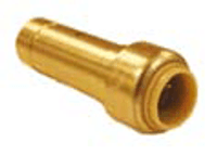 "Probite Lf8338 Push Reducer 1/2""cts X 3/8"""